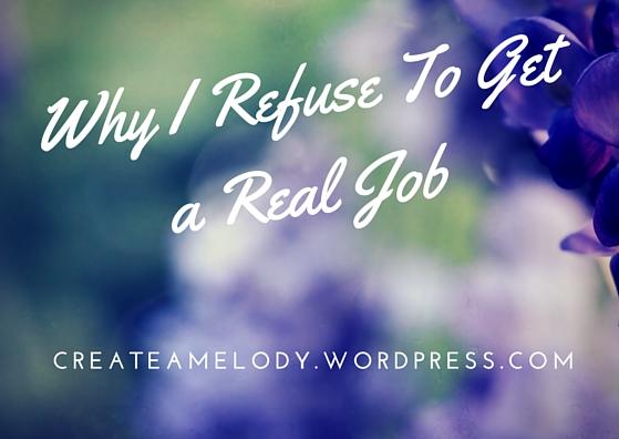 Why I Refuse